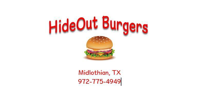 Hideout Burgers