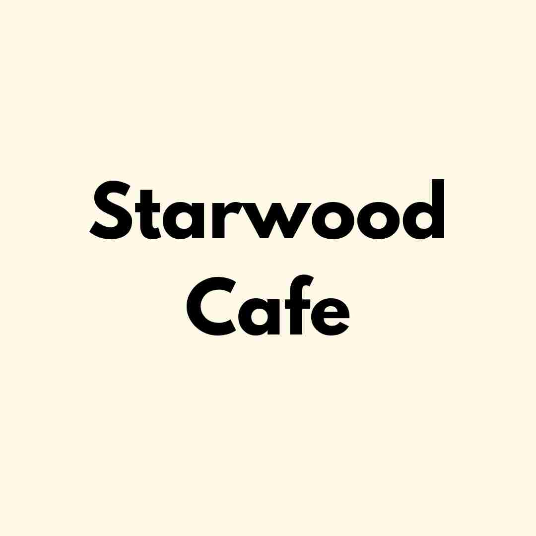 Starwood Cafe - Lunch & Dinner Menu